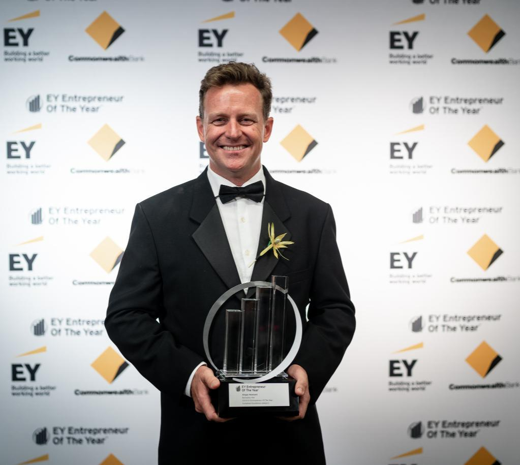 Kennards Hire CEO Angus Kennard achieves 2019 Sustained Excellence Award at EY Entrepreneur Of The Year™ awards