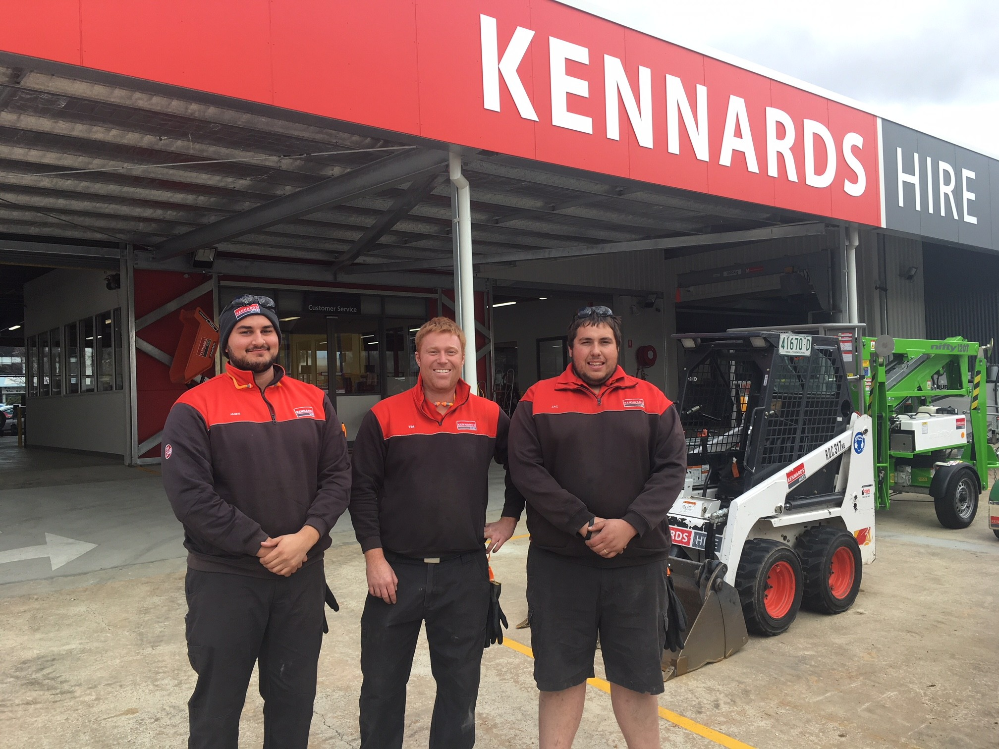 Kennards Hire Phillip moves to bigger and better location