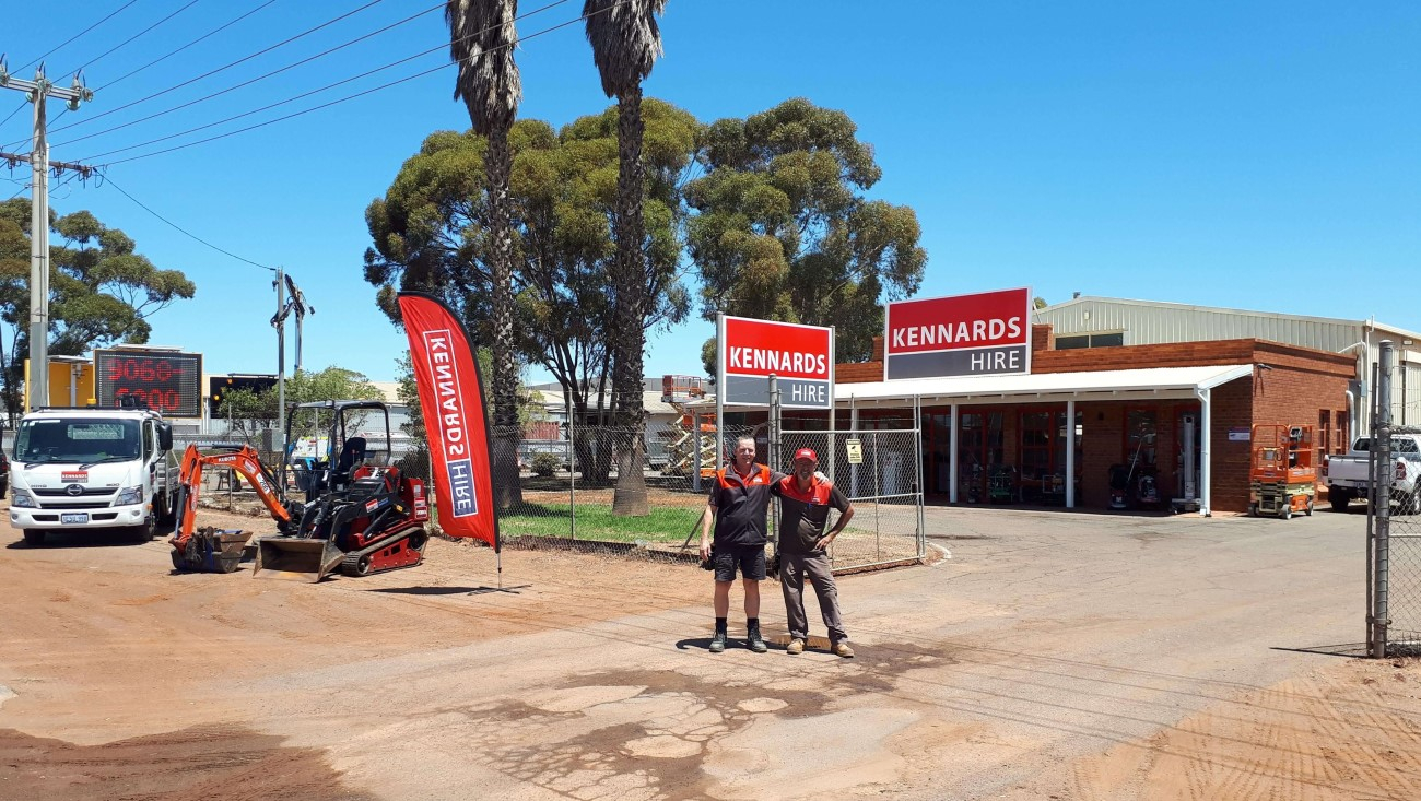 Count on Kennards Hire in Kalgoorlie