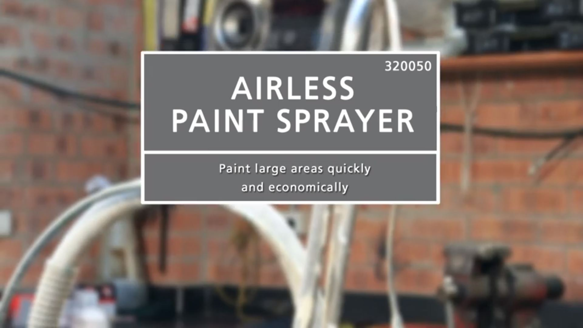 How to Operate an Airless Sprayer