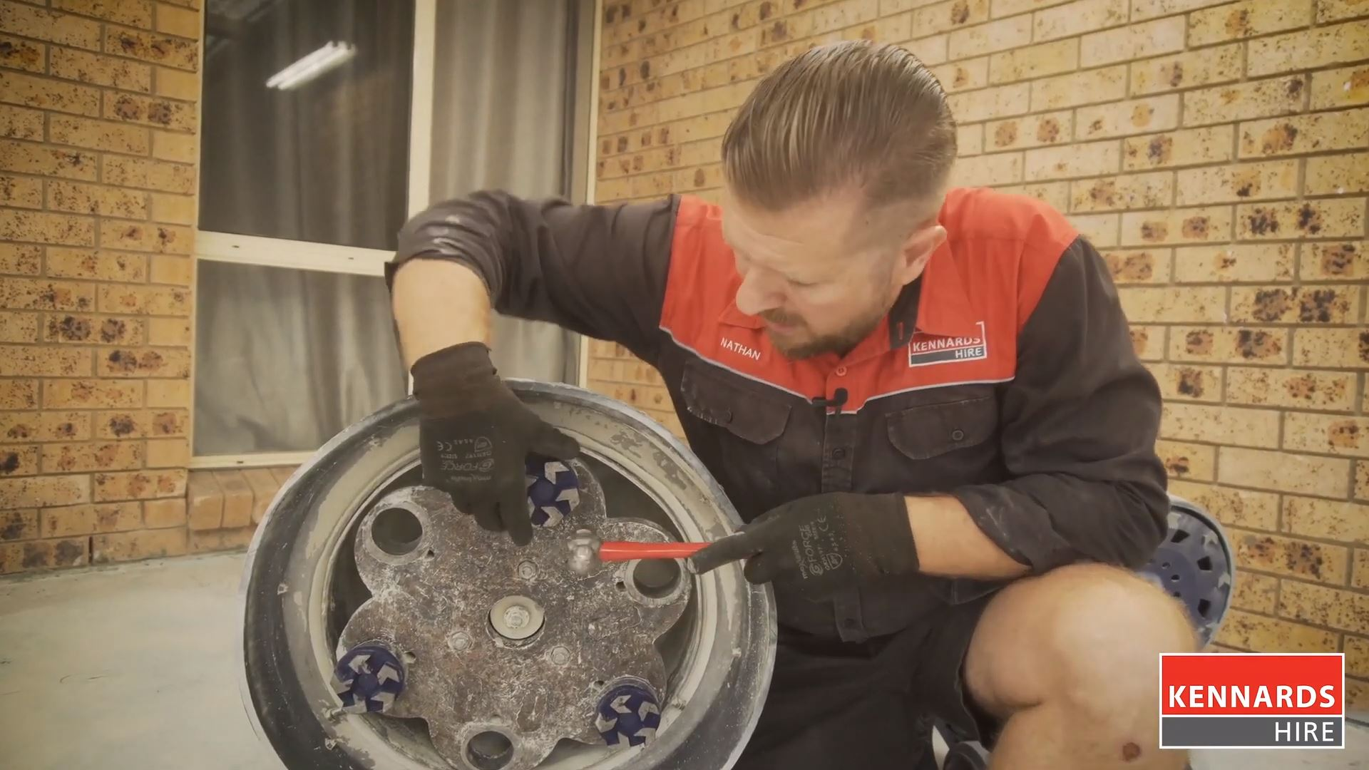 How to Replace Cups and Plugs on a Concrete Grinder
