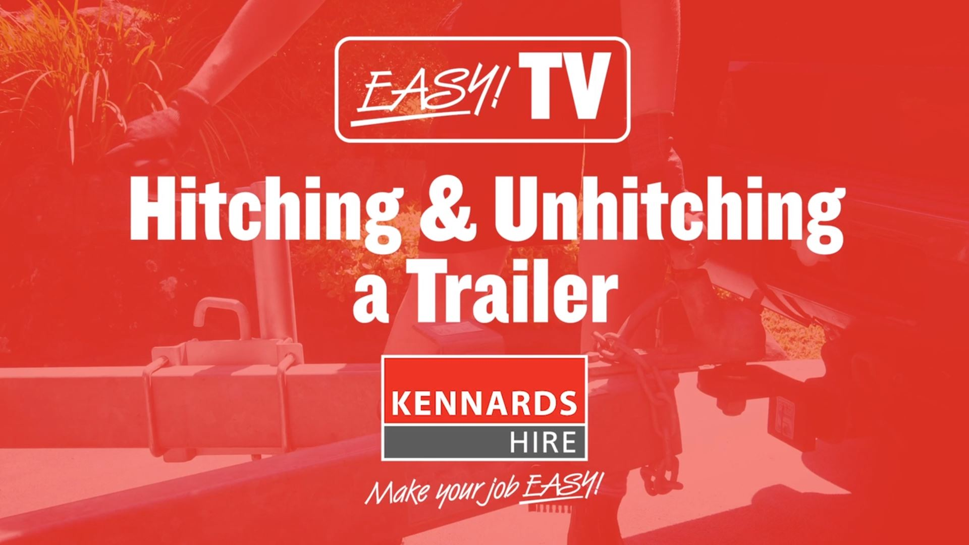 How to Hitch and Unhitch a Trailer