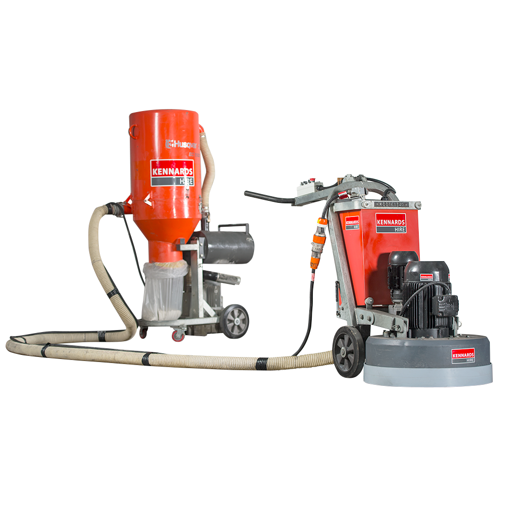 CONCRETE GRINDER - PLANETARY 600 SERIES 415V for Rent - Kennards Hire