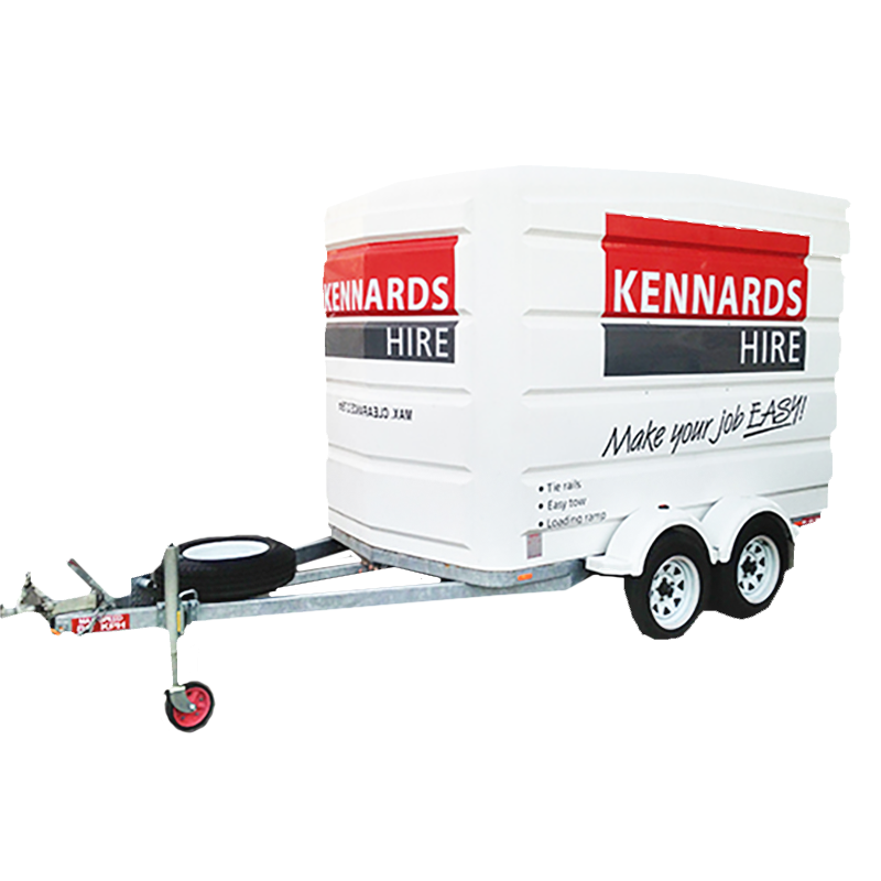Trailer Enclosed Large For Rent Kennards Hire