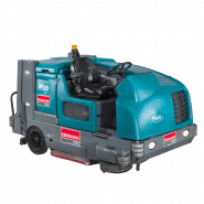 SCRUBBER - SWEEPER RIDE ON LPG