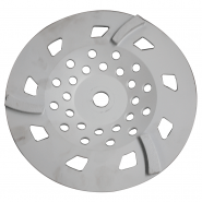 "CUP DISC 10"" -  3 SEG 30/40# WHITE"