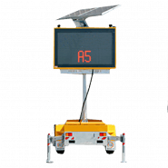 MESSAGE BOARD - LED SMALL (COLOUR / RADAR)
