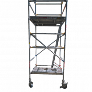 SCAFFOLD - LIFTWELL 1.2M X 1.2M TO 4.5M