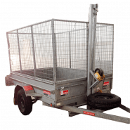 TRAILER - TIPPING 2.4M X 1.5M (8FT X 5FT)