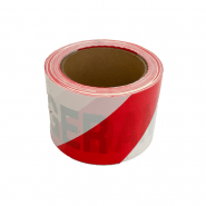 BARRICADE TAPE - RED/WHITE  50M DANGER