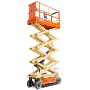 SCISSORLIFT 7.7M (26FT) ELECTRIC NARROW