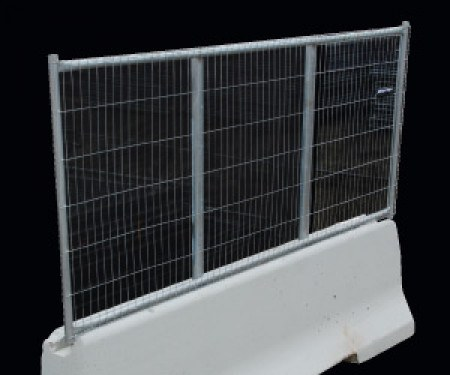 Barrier Concrete 3m Fence Panel For Rent Kennards Hire