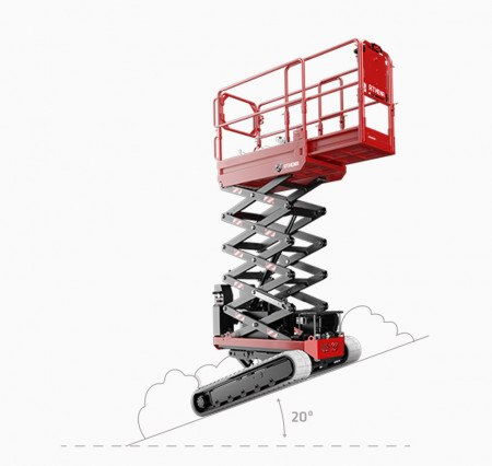 SCISSORLIFT  5.8M (19FT) TRACKED