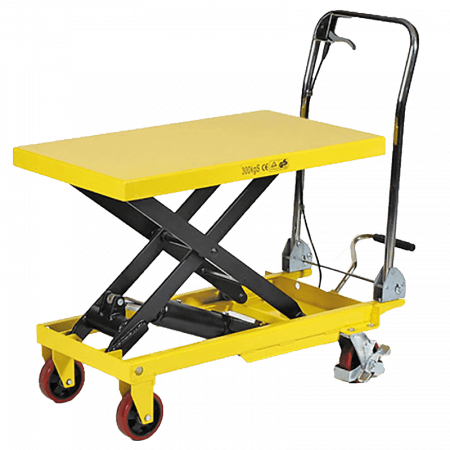 TROLLEY - PLATFORM HYDRAULIC 1T HI LIFT