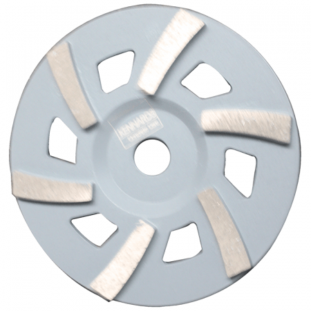 "CUP DISC  7"" -  6 SEG 30/40# GREY"