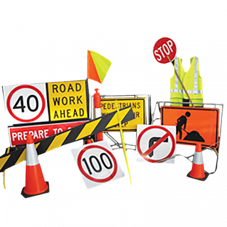 ROAD SIGN - STAND
