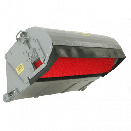 SKID STEER - ROAD BROOM ATTACHMENT