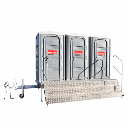 TOILET (X3) FRESHWATER WITH TRAILER