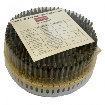 NAILS - ROUND RING GAL 50MM (PK 300)