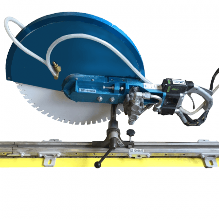 DEMOLITION SAW - CARRIAGE & RAIL SYSTEM (1040MM) SUIT 500MM (20IN) HYDRAULIC