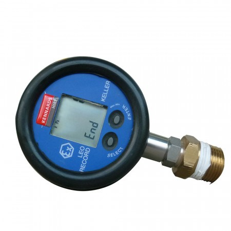 PRESSURE/TEMP GAUGE 30BAR