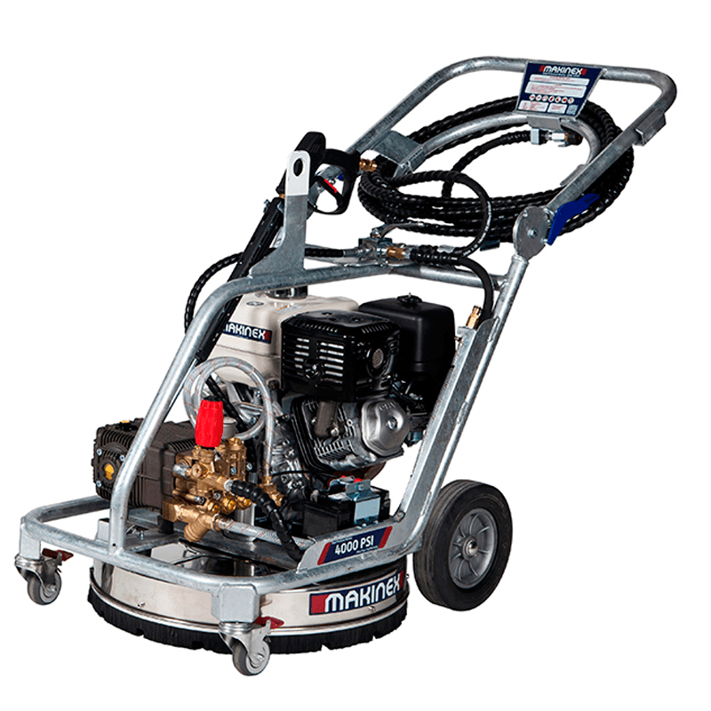 PRESSURE WASHER - ROTARY WALK BEHIND 4000PSI for Rent - Kennards Hire