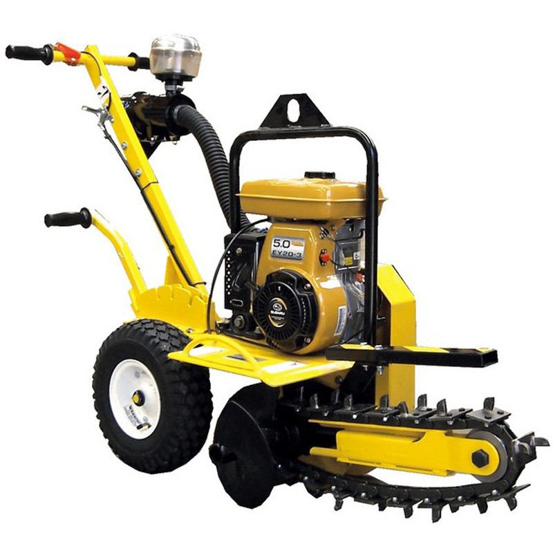 TRENCHER - 90MM X 600MM SELF PROPELLED for Rent - Kennards Hire