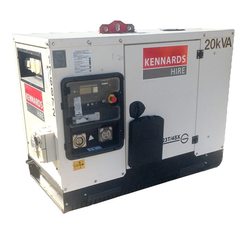 GENERATOR - 20 KVA for Rent - Kennards Hire