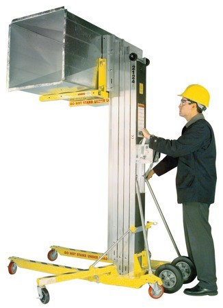 MATERIAL HOIST - 5 5M 295KG for Rent - Kennards Hire