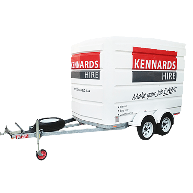 Rent Trailers Boxed Caged Enclosed Trailers Kennards Hire