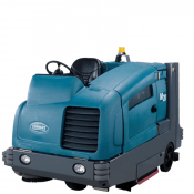 SCRUBBER - SWEEPER RIDE ON DIESEL