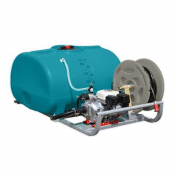 WATER TANK & PUMP 1500L SKID