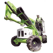 BOOMLIFT 10.2M (34FT) DIESEL/ELECTRIC 4WD