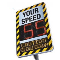 MESSAGE BOARD - SPEED ADVISORY