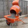 CONCRETE MIXER -  0.06 CU.MTR (2CU.FT) BARROW