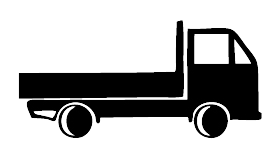 A truck is required