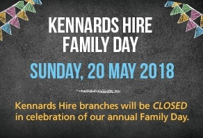 Kennards Hire Family Day