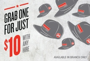 Kennards Hire Snapback Caps