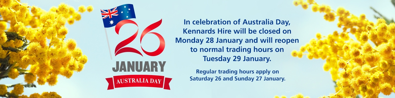 Find out your local branch's holiday trading hours