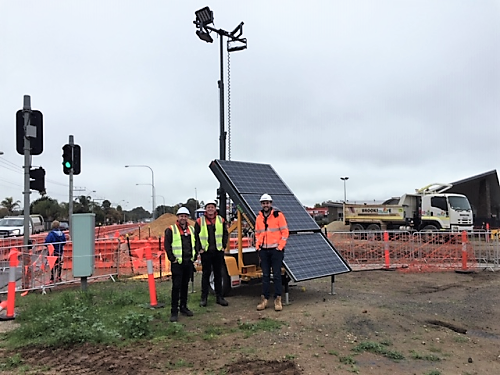 Lighting up the Gawler East Link Road with Bardavcol