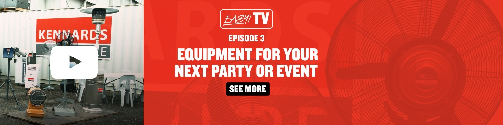 EasyTV Party Equipment
