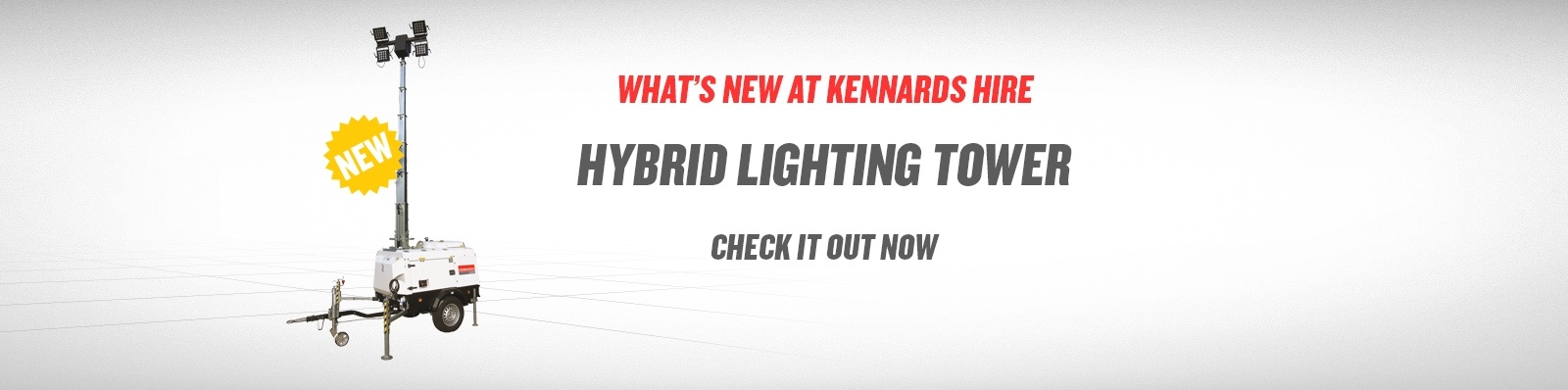 hybrid light tower