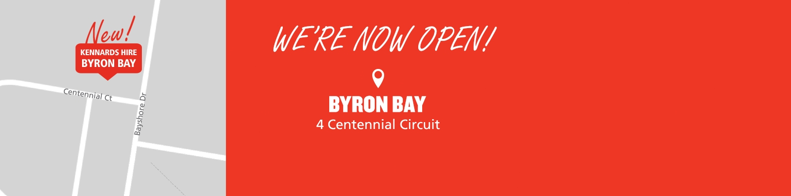 Check out our new Byron Bay branch!