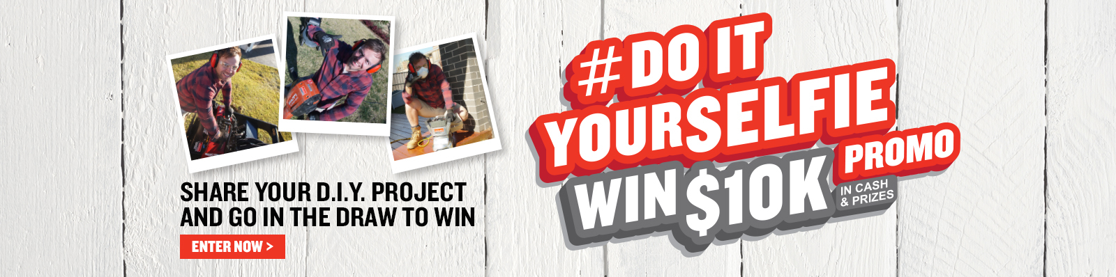 Enter our Do It Yourselfie Competition!