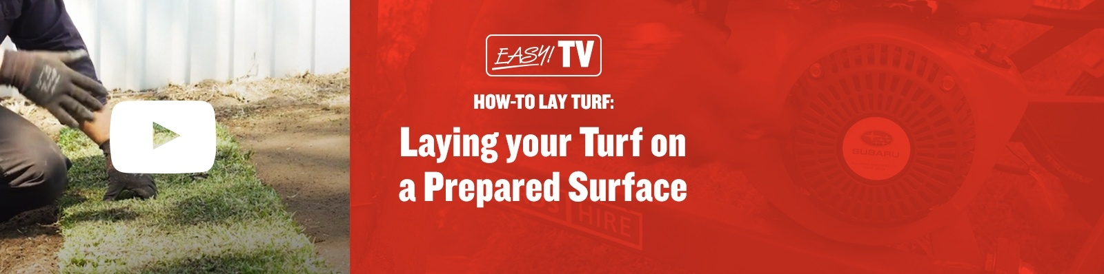 EasyTV Turf Laying