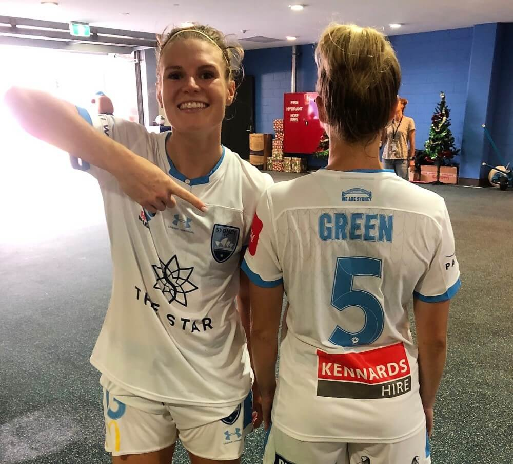 Sydney FC W League Shirt Sponsors Kennards Hire