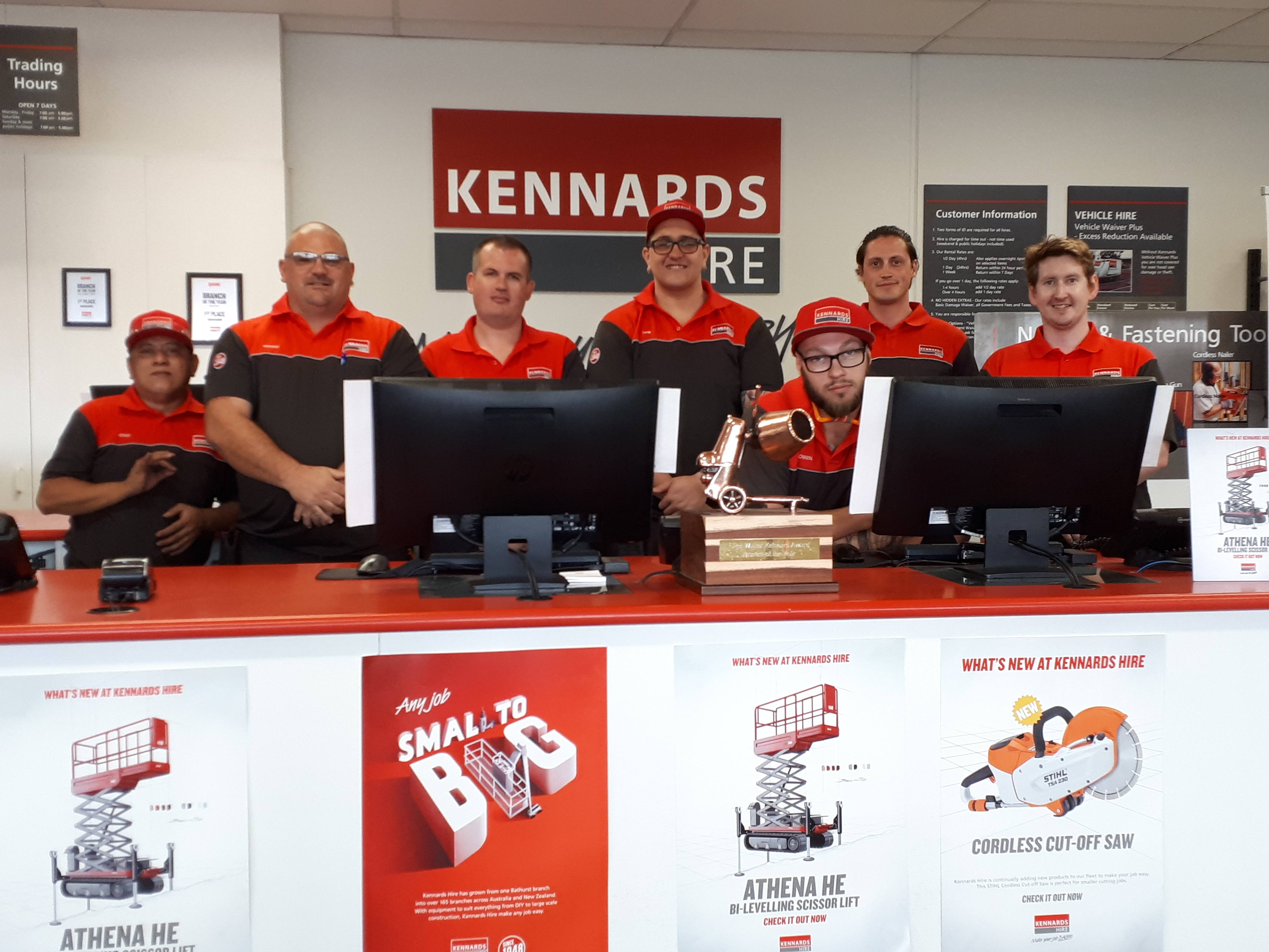 The Kennards Hire Moorabbin team