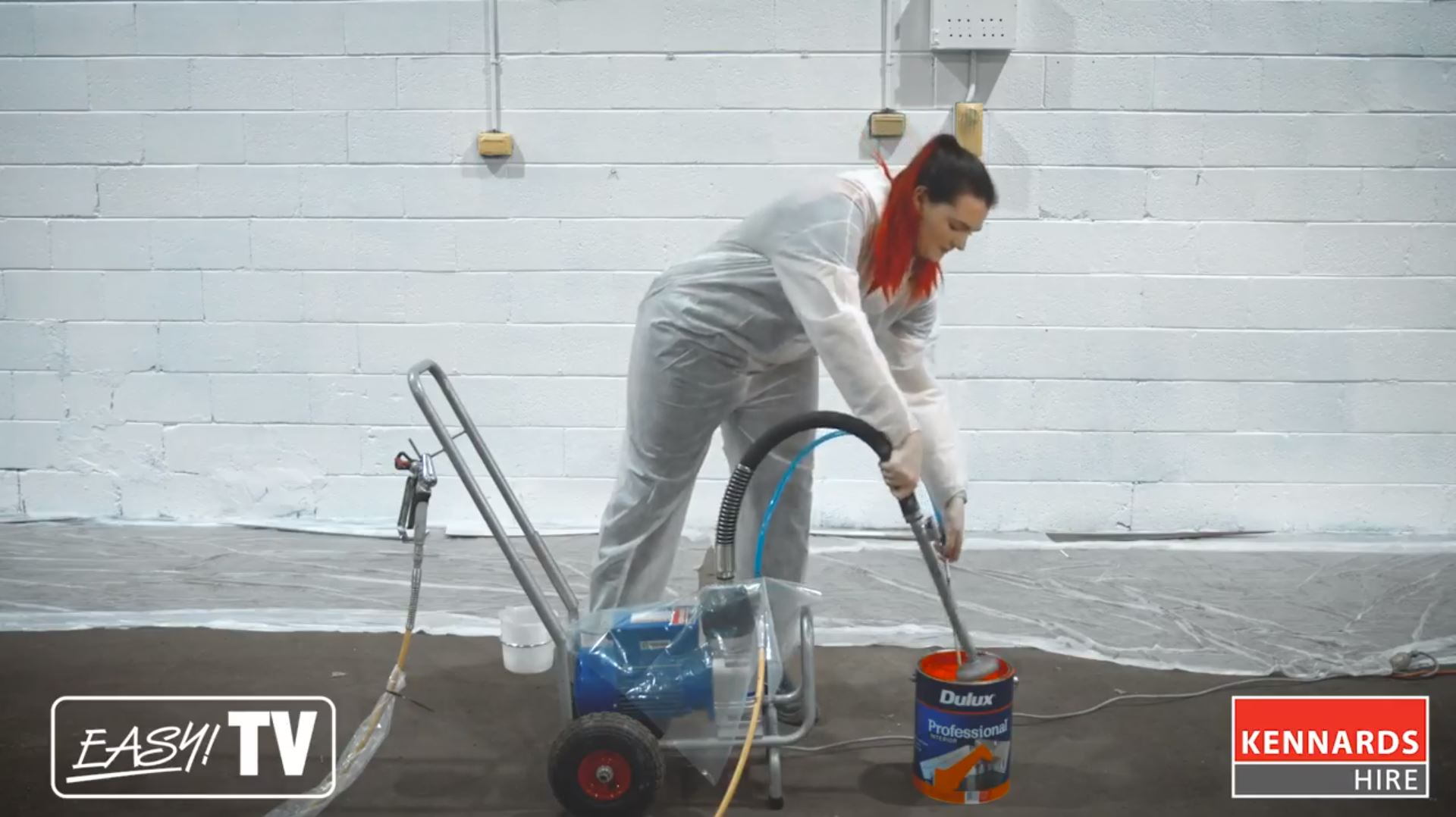 airless sprayer can save you time and money on site