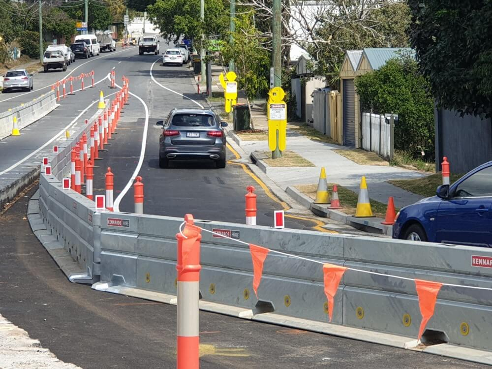 Kennards Hire Steel Barriers - Traffic Management