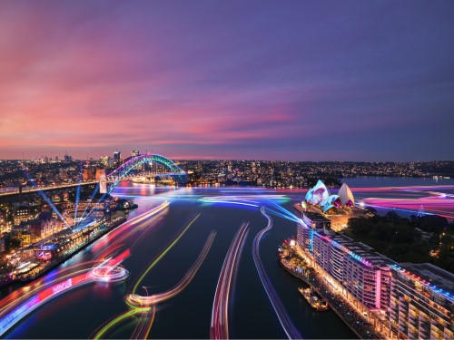 Kennards Hire Helps Make Vivid Sydney 2019 Shine